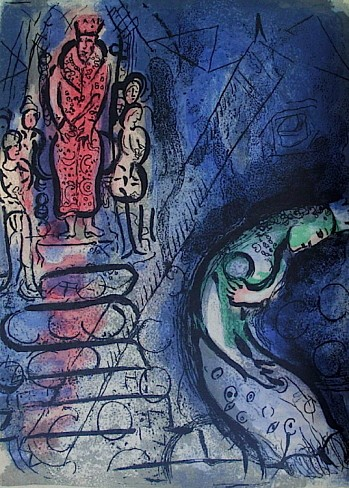 Marc Chagall, Bible 1956