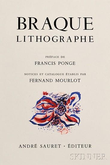 Georges Braque, Braque Lithographe 1963