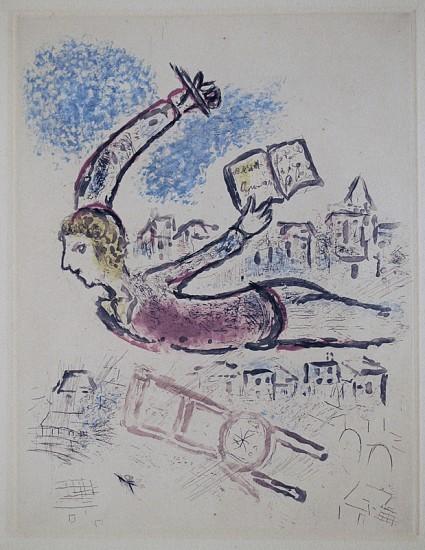 Marc Chagall Jerusalem Windows 1962 Zucker Art Books