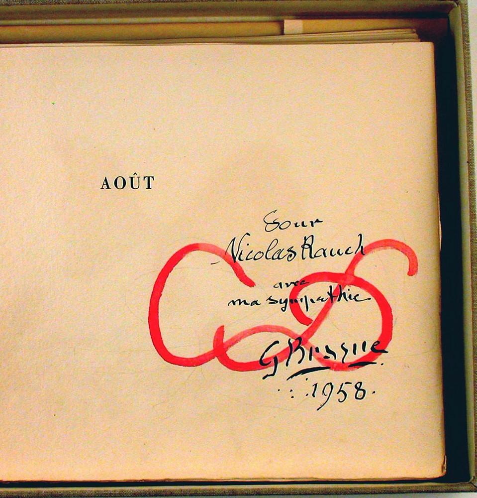 Georges Braque | Aout | 1958 | Zucker Art Books