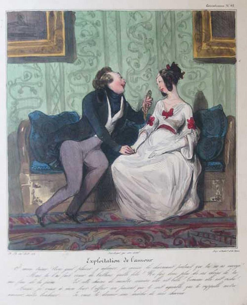Honore Daumier | Les Robert Macaire | 1836-1838 | Zucker Art