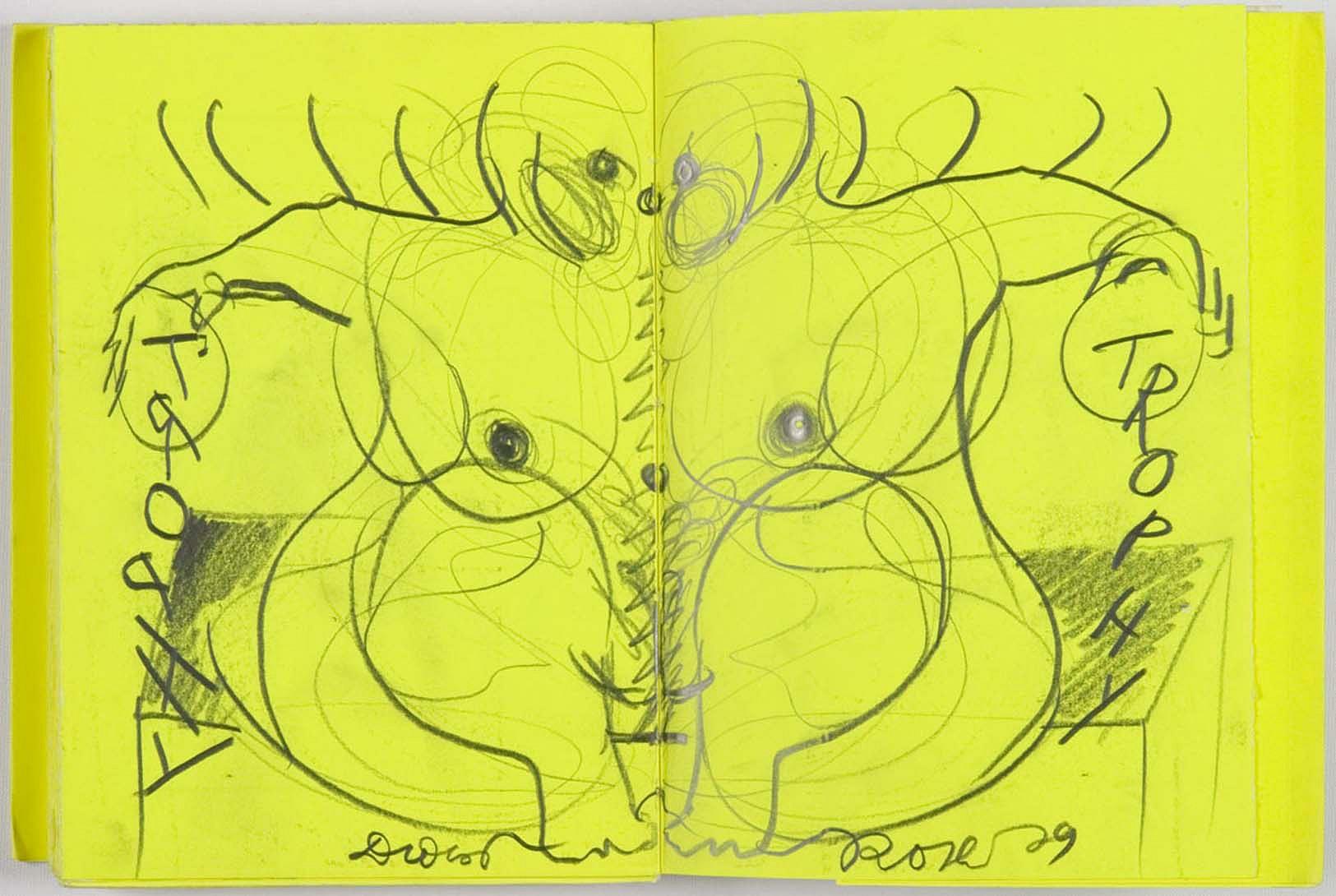 Dieter Roth Drawings Trophies 1979