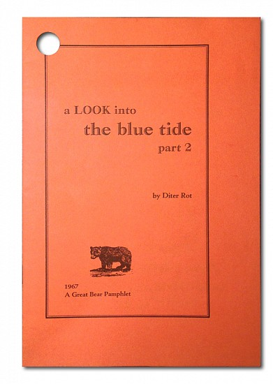 Dieter Roth Life Line, a Look into the blue tide 1967