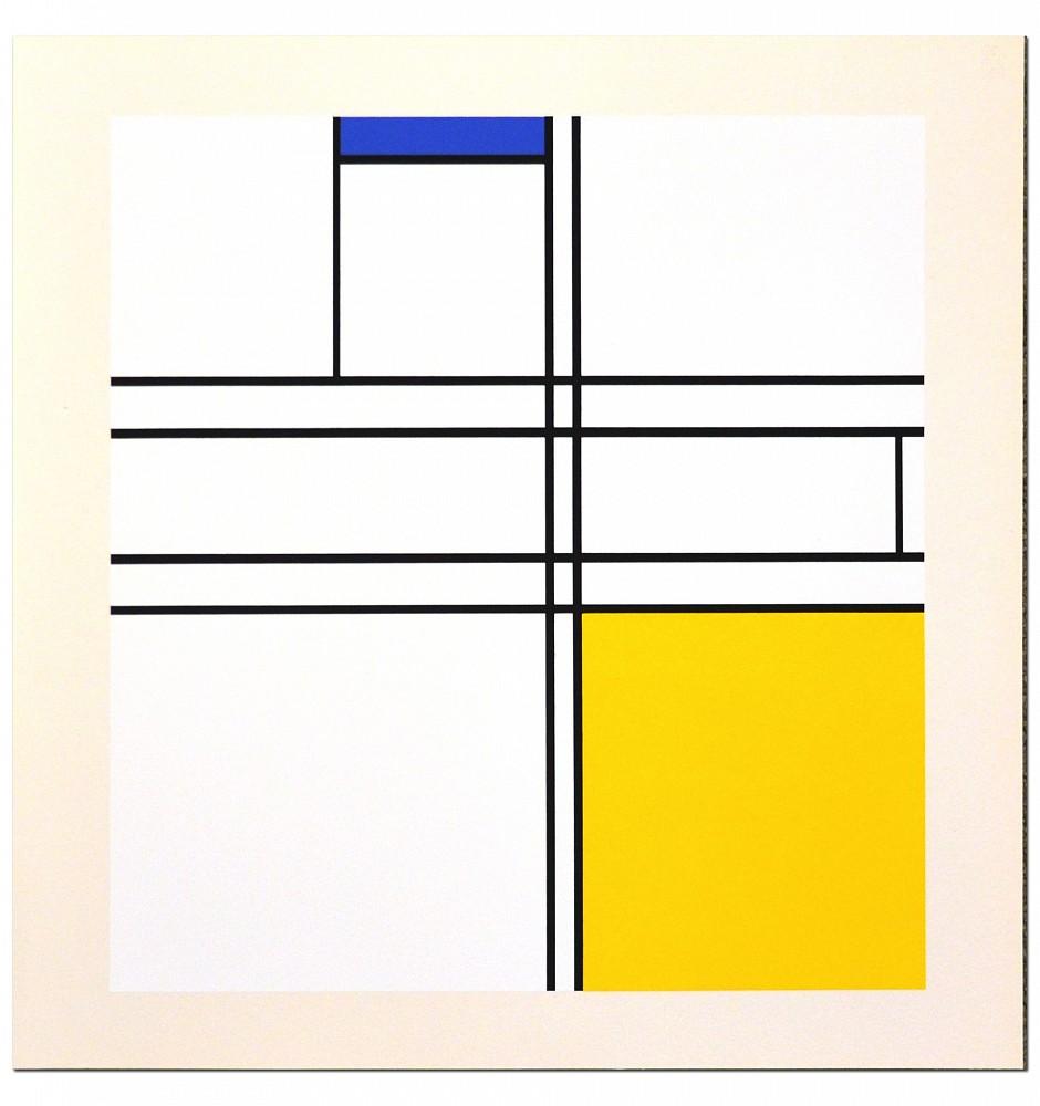Piet Mondrian | Portfolio of 10 paintings | 1967 | Zucker Art Books