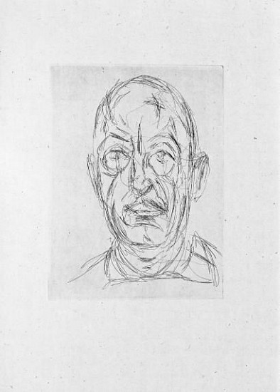 Art Books Alberto Giacometti Douze Portraits Du Celebre Orbandale 1962