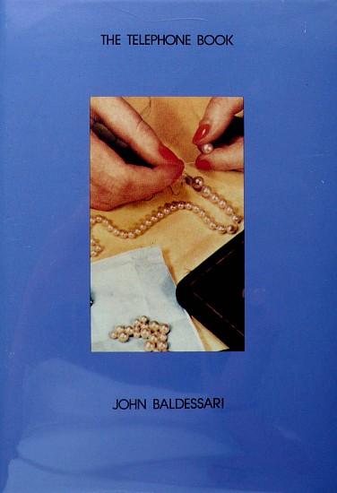 John Baldessari The Telephone Book With Pearls 1988